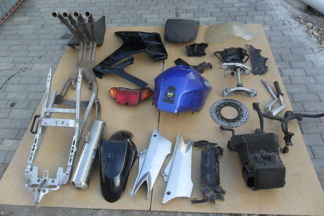 Yamaha FJR 1300 owiewka i inne klamoty