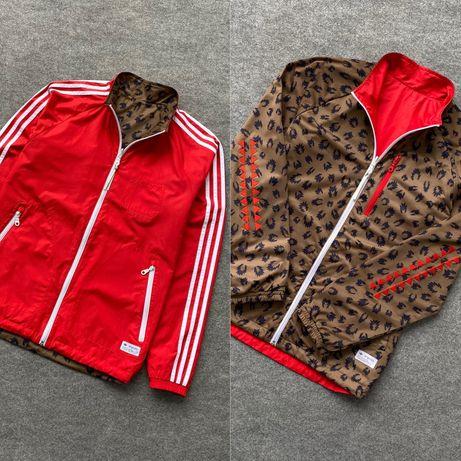 Оригінальна двохстороння куртка, вітровка ADIDAS ORIGINALS олімпійка