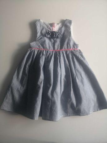 Śliczna sukienka rozmiar 80 firmy Smyk