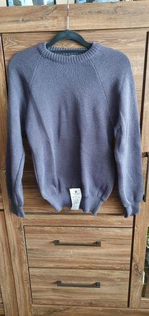Sweter pilota stalowy w roz. 88-94/165