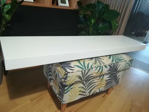 IKEA LACK 2x półka ścienna 110x26 cm kolor biały stan bdb