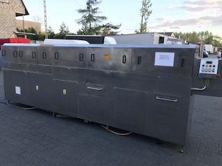 Myjka do pojemników plus suszenie pojemniki euro E2 masarnia ubojnia