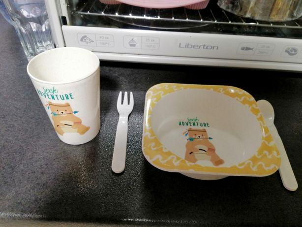 детская посуда тарелка ложка поильник бутылочка Tommee Tippee