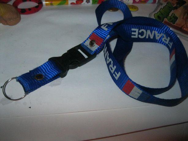 аксессуар веревка на шею бейдж или ключа франция FRANCE ланьярд