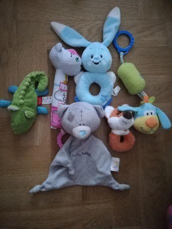 Zestaw maskotek dla niemowląt