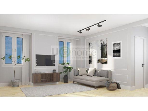 Apartamento T2 ao Martim Moniz totalmente remodelado