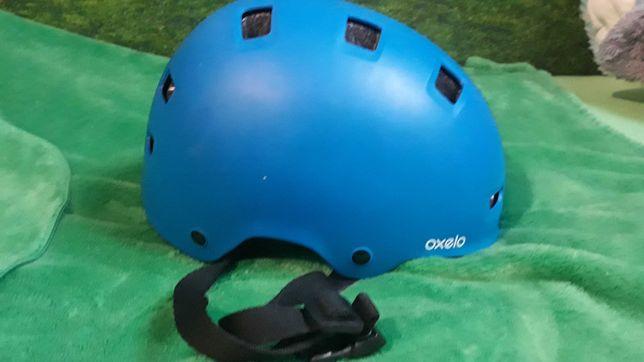 Kask Oxelo 52-54+drugi kask rowerowy gratis