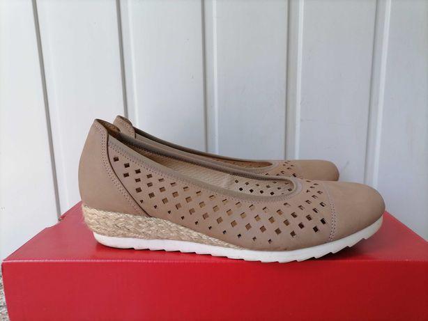 Кожаные туфли, босоножки фирмы Gabor оригинал