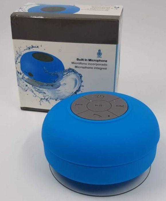 Głośnik bezprzewodowy bluetooth BASS Akumulatorowy przyzsawka niebiesk Świecie - image 1