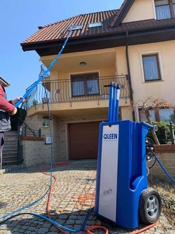 czyszczenie fotowoltaiki , mycie elewacji , dachu , kostki , okien