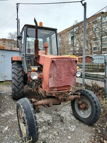 Продам трактор ЮМЗ 6 с навесной щёткой