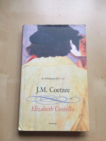 """Książka w języku szwedzkim """"Elizabeth Costello"""", J.M. Coetzee"""
