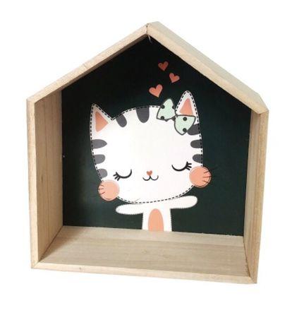 Półka kotek dla dziecka Nowa !