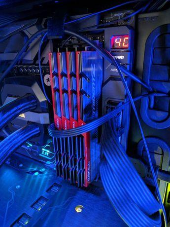 16GB (2x8GB) DDR4-3600 GSkill Trident Z Red