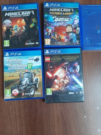 Gry na ps4 (4 gry)