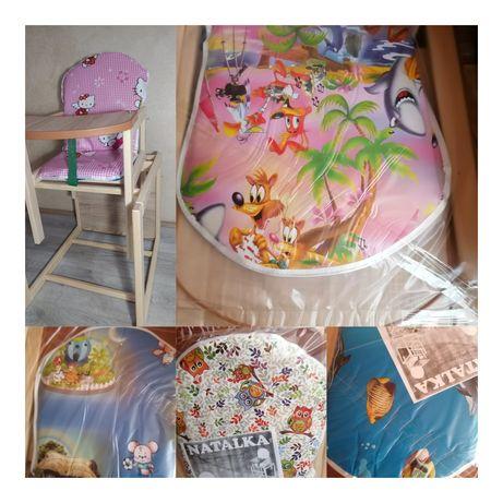 Детский стульчик-трансформер для кормления малышей стул+стол 2в1