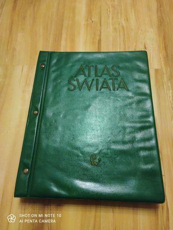 Atlas świata Wydawnictwo PWN 1962 r.