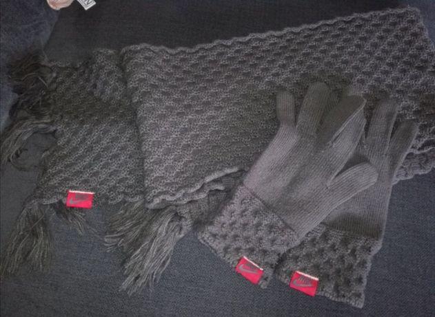Szalik i rękawiczki Nike komplet