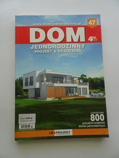 """Katalog z projektami domów """" Dom jednorodzinny."""
