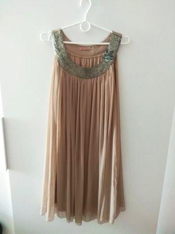 Sukienka XL plisowana