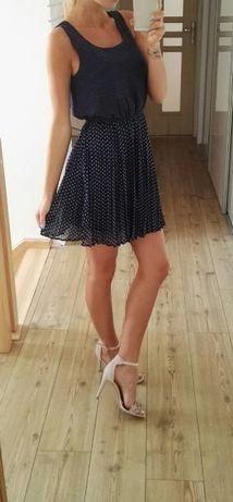 sukienka w kropki XS/S