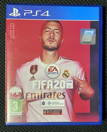 Gra na PS 4 - Fifa 20 PL