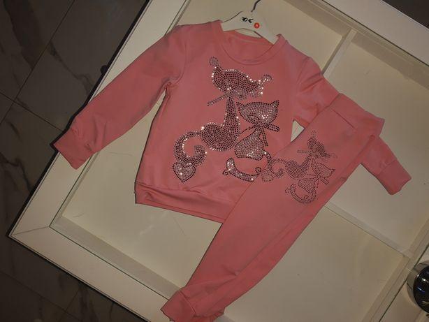 Nowy różowy dres