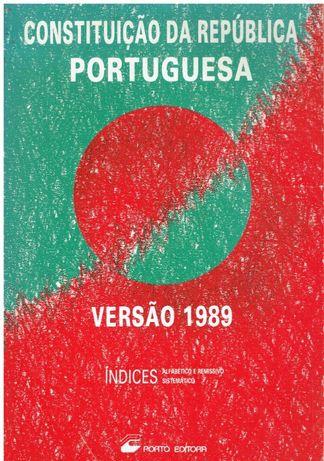 5796 Constituição da Republica Portuguesa Versão 1989