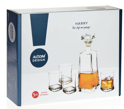 Zestaw do whisky Altom Design - HARRY 4+1 -idealny na prezent!