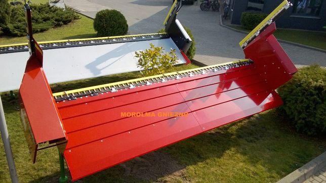 NOWOŚĆ Stół do rzepaku bezobsługowy progowy BIZON najazd Super Rekord