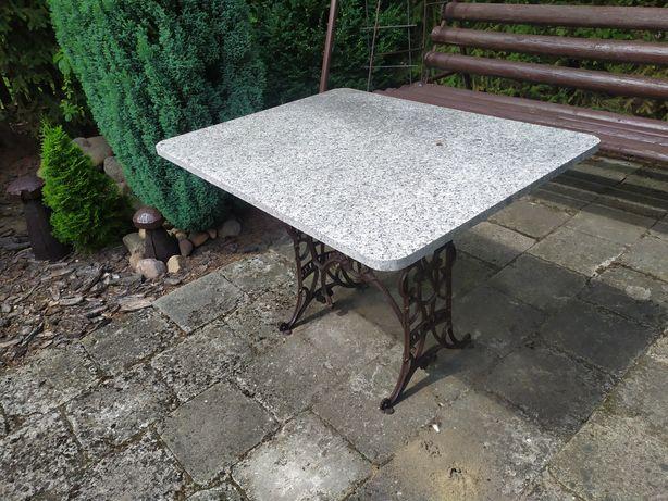 Stół płyta marmur