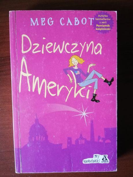 """""""Dziewczyna Ameryki"""" Meg Cabot"""