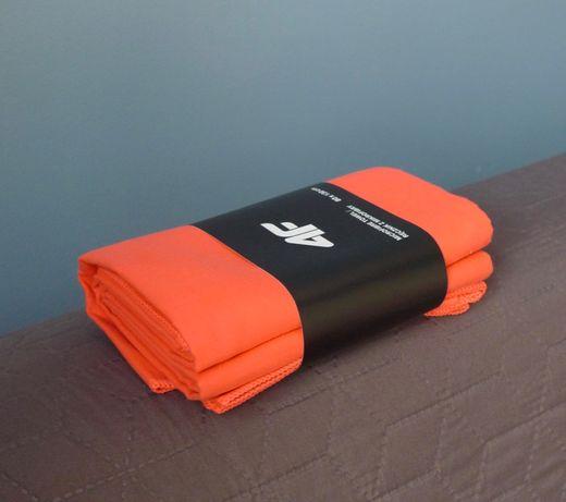 Mikrofibra Lekki Ręcznik 80-130 cm żarówiasty - morsowanie trening