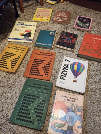 Stare książki podręczniki szkolne