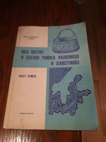 Książka Rola Bałtyku w dziejach Pomorza Wsch
