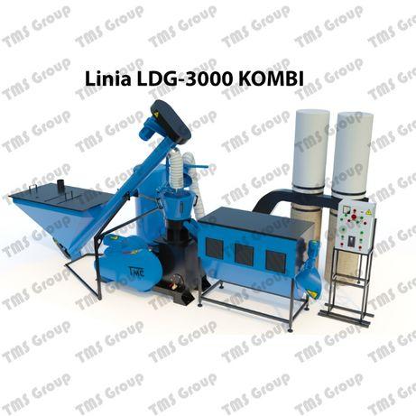 Linia do produkcji pelletu/granul/peleciarka/granulator LDG-3000/25kwt