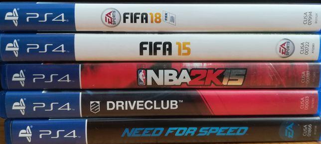 PS4 gry FIFA 15, FIFA 18