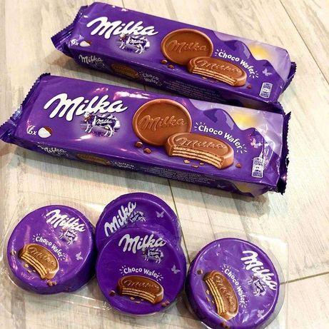 Шоколадна вафля Milka choco wafer, мілка, милка