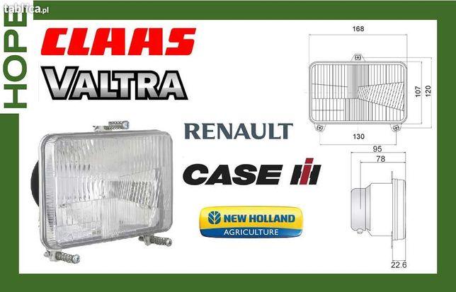 lampa przednia do ciągników rolniczych valtra claas renault case