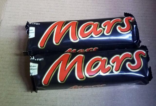 Mars шоколадный батончик