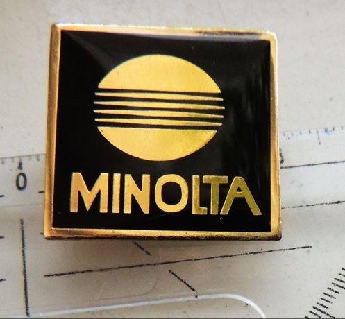 Minolta odznaka logo herb optyka