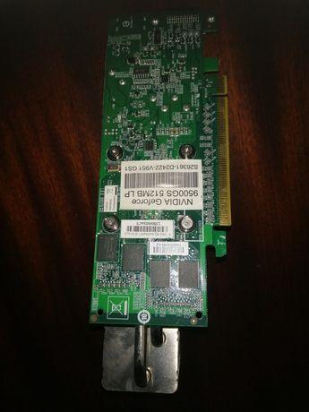 Видеокарта Fujitsu GeForce 9500GS (512MB/DDR2/128bit/DMS-59) LP БУ