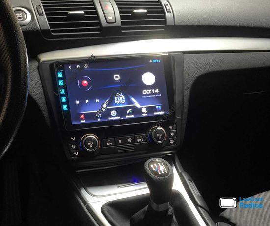 Auto Rádio GPS BMW Série 1 ANDROID - E81/E82/E87/E88 (2004 a 2011)