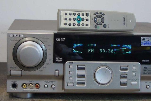 Aiwa AV-D97 Amplituner kina domowego 5.1 Dolby Digital, DTS + kolumny