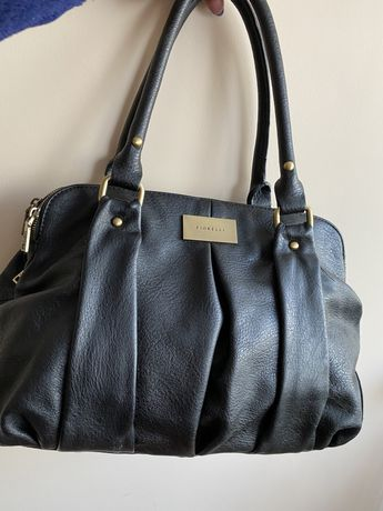 Okazja ! Torebka elegancka, czarna oryginalna torebka firmy Fiorell