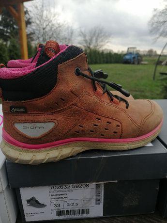 33 ecco biom buty dla dziewczynki 21,5 membrana gore-tex
