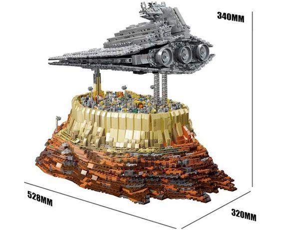 Klocki Lepin Star Wars Imperium nad miastem Jedha 5098 klocków