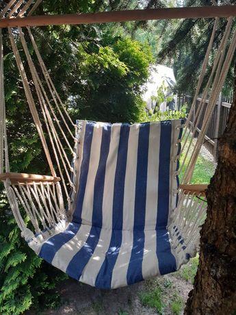 Fotel wiszący huśtawka hamak idealny stan