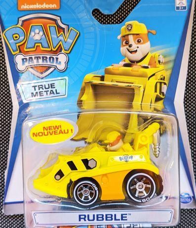 Komplet 6 zabawek z serialu Psi Patrol (Paw Patrol) z plakatami