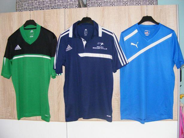 Koszulki sportowe młodzieżowe,męskie, rozmiar s od 164